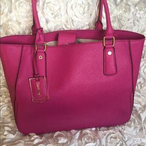 Fuchsia Calvin Klein handbag